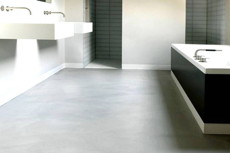 Beton Ciré in badkamer en keuken | Prijzen en ervaringen grijze ...