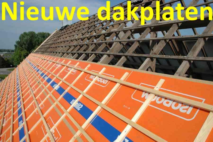 nieuwe dakplaten