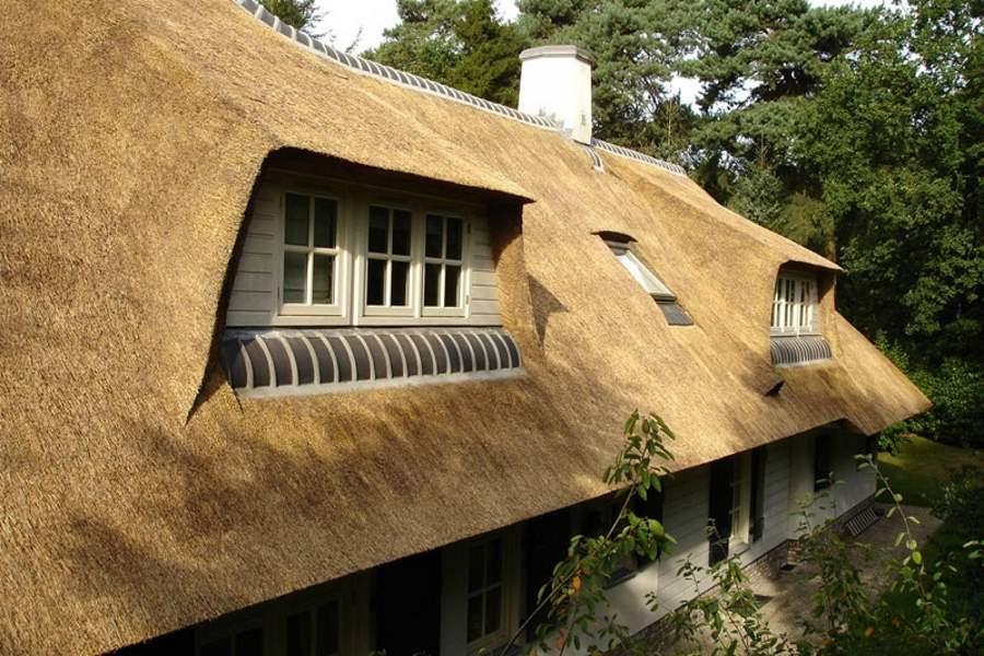 Rieten dak kosten meerwaarde isolatie en besparingen