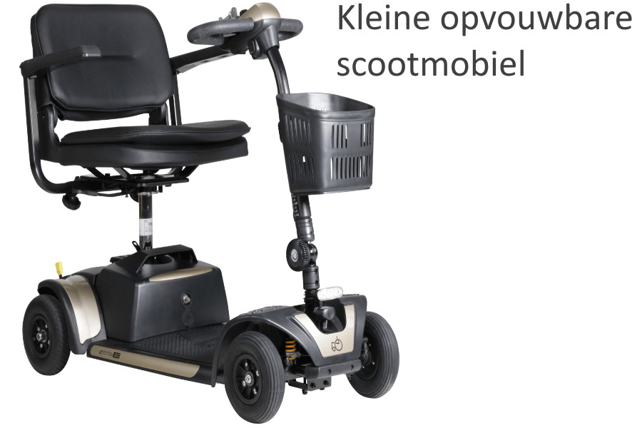 Kleine opvouwbare mini scootmobiel | Prijs, Kopen, voor- en nadelen