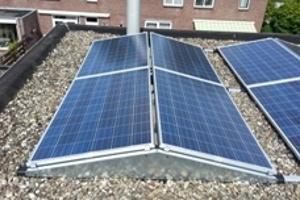 Zonnepanelen plat dak 2019 hoger rendement dan schuin dak!