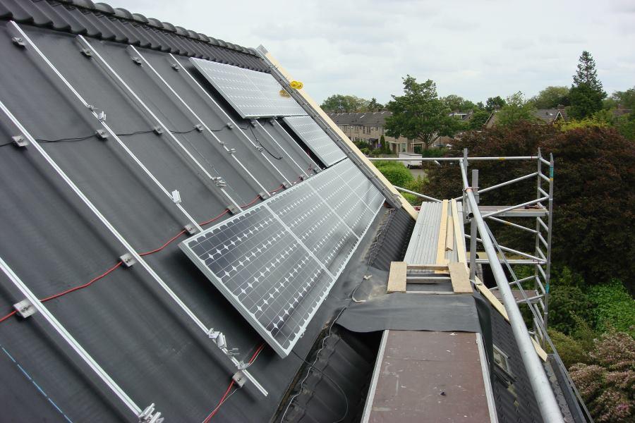 zonnepanelen vervangen