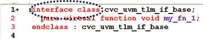 UVM base class