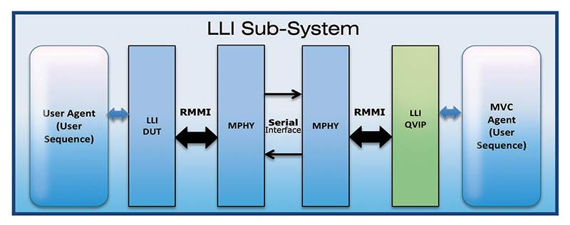 Typical LLI subsystem environment