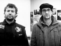 Foto de Xavi Piera y Joseba Zabalza