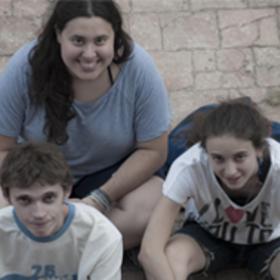 Edu Abad, Bruna Buxeda y Mireia Martín