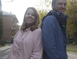 Foto de Mónica Ovejero y Guillermo López