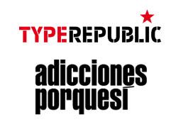 Foto de Adicciones porquesí + Typerepublic