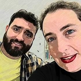 Diego Merayo y Rosa Montaña
