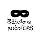 Edicions Anònimes