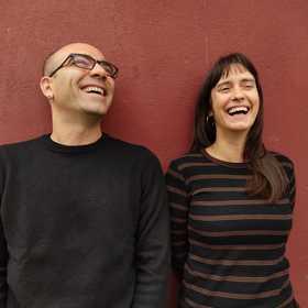Gus Bas y Aida Rivas-Moreno