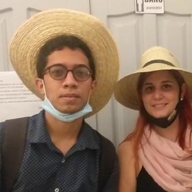 Rafael Betancourt y Emily Brito