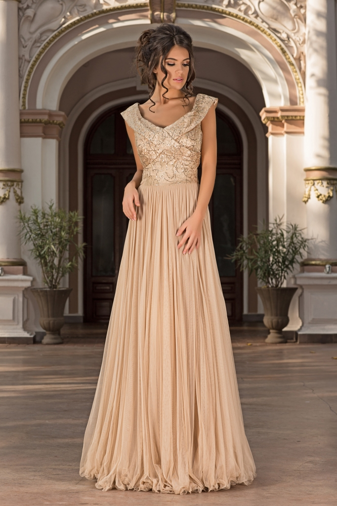 oscar evening dress
