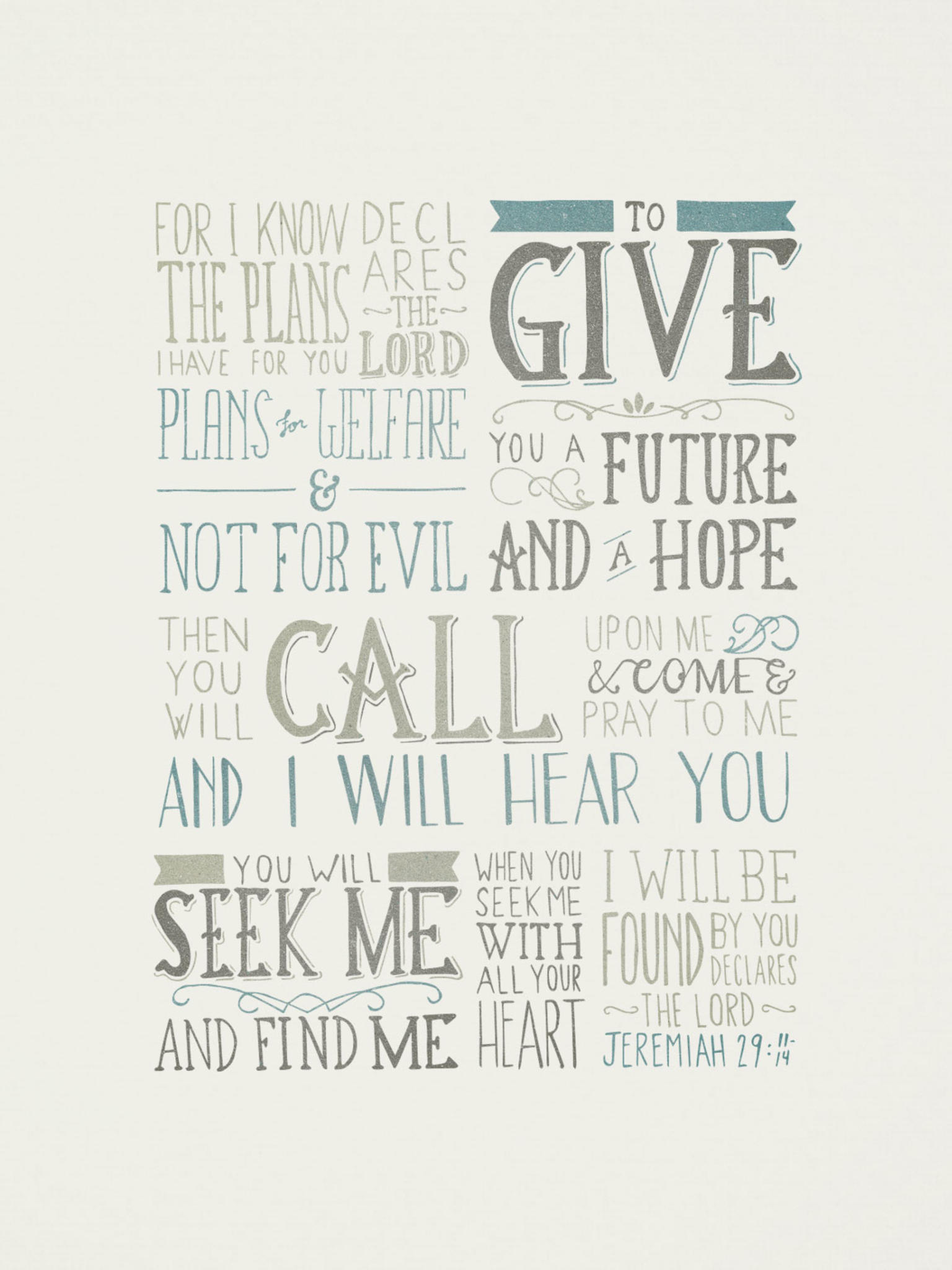 Jeremiah 29 11 14 The Verses Project