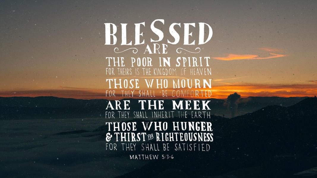 Matthew 5:3-6 - The Verses Project