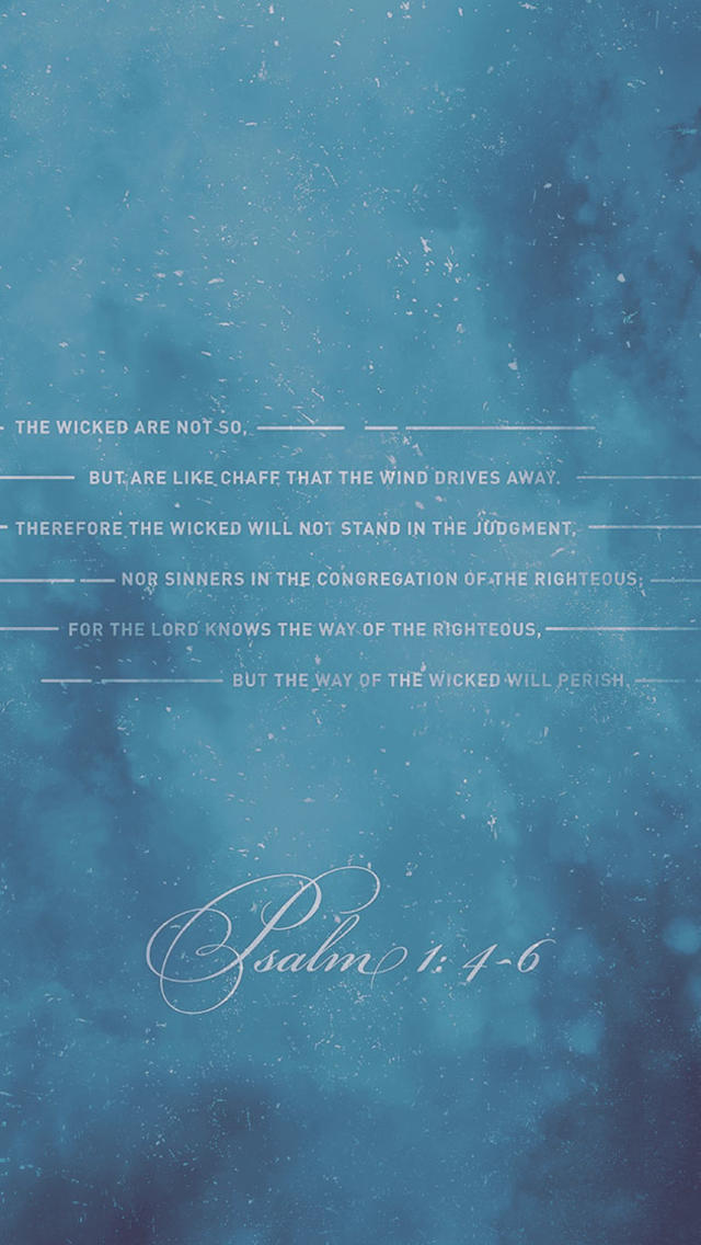 Psalm 1:4-6 - The Verses Project