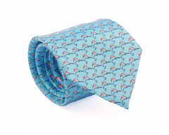 Marlin Silk Tie