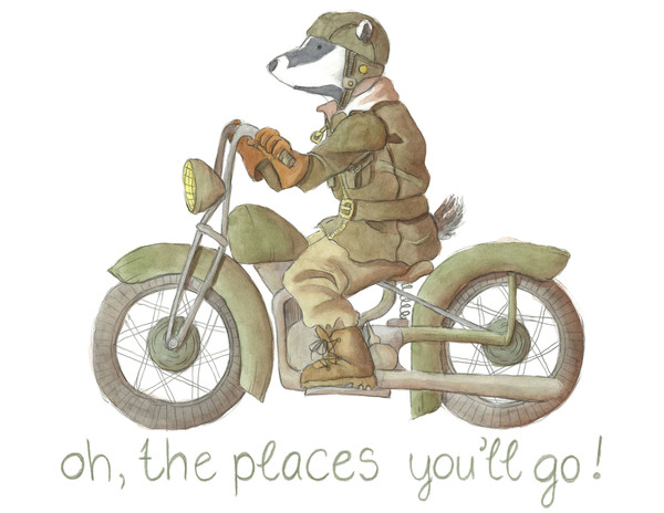Oh, the Places You'll Go (bike)