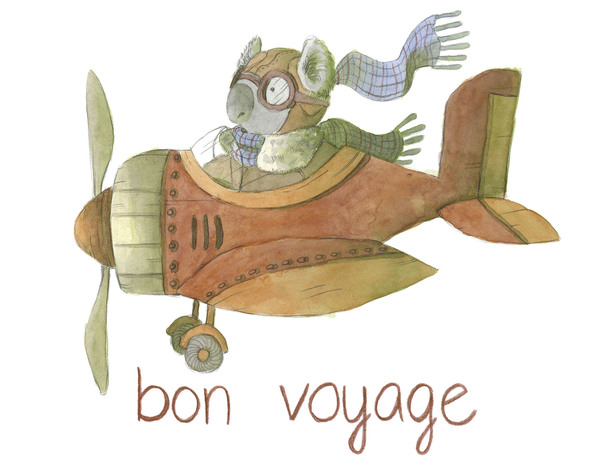 Bon Voyage (for now)