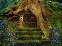 Enchanted Forest Peapod Puzzle