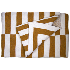Aquino Throw Blanket - Oro