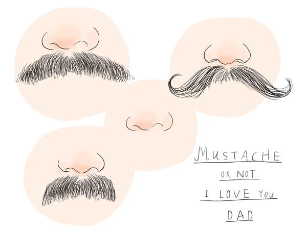 Dad's Mustache