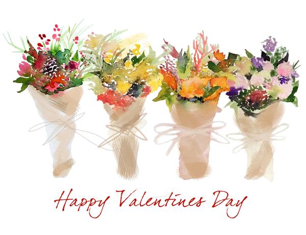 Valentine's Flower Bouquets