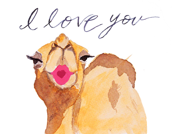 I Love You Camel