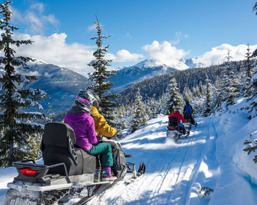 Snowmobile Cruiser Tour