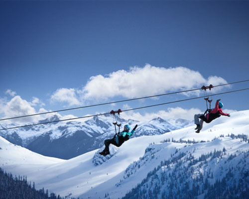 Winter Superfly Ziplines