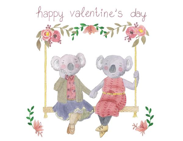 Koala Swing Valentine