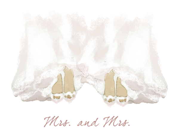 Mrs. and Mrs. Wedding