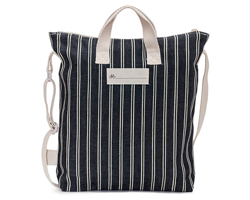 Denim Kids Zipper Tote Bag