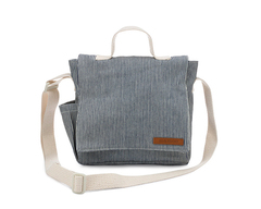 Denim Railroad Kids Mini-Messenger Bag