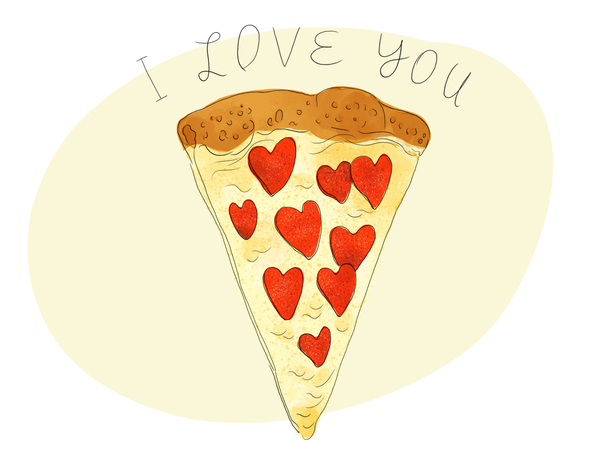 Pizza I Love You