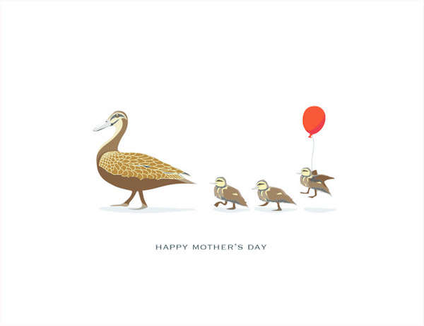 Mother's Day Duck