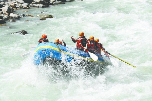 Rafting - Elaho-Squamish River Tour