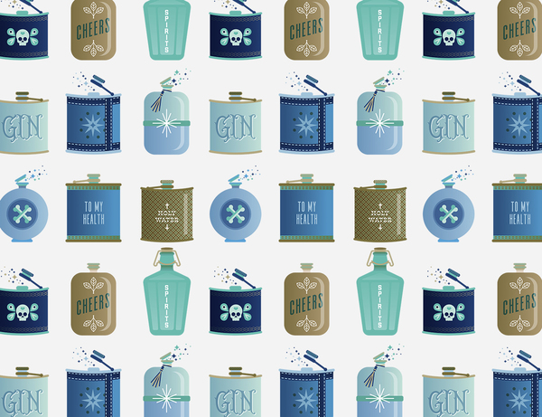 Blue Flasks