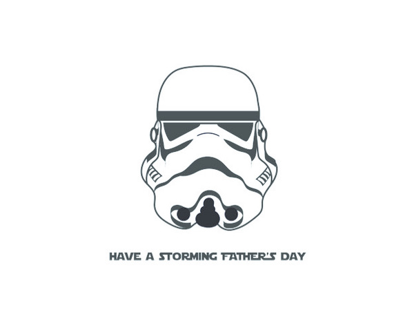 Storm Trooper Father's Day