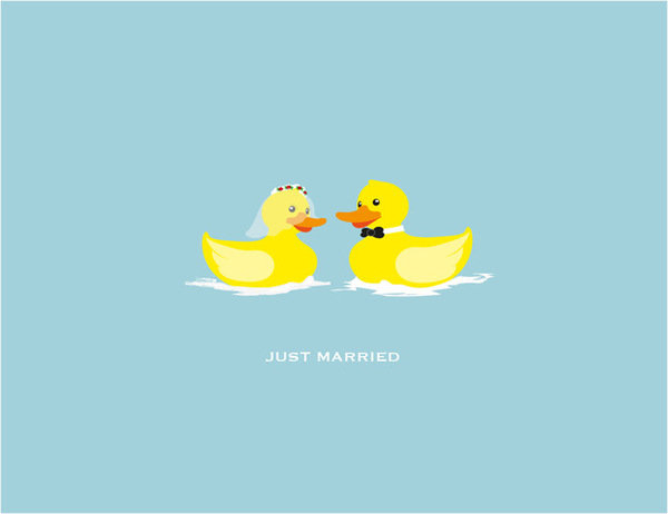 Rubber Ducky Wedding