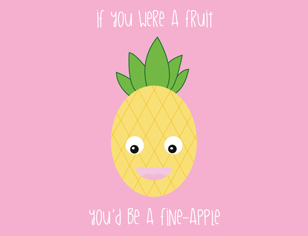 You're a Fine-apple