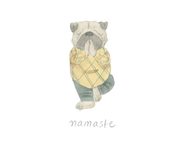 Namaste Tree Pose