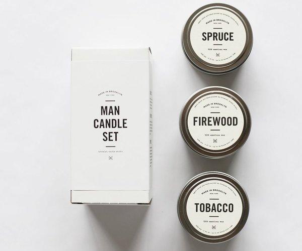Man Candle Set