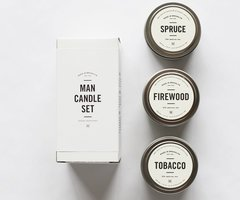 Man Candle Set