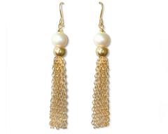 Gold Carita Earrings