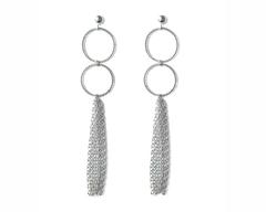 Silver Catalan Earrings