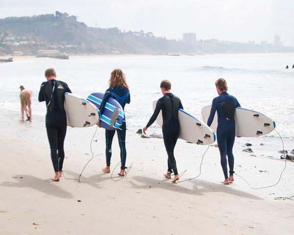 Surf Camping Adventure