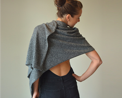 Cashmere Maxi Scarf and Travel Wrap