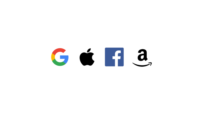 GAFA means Google, Amazon, Facebook, Apple