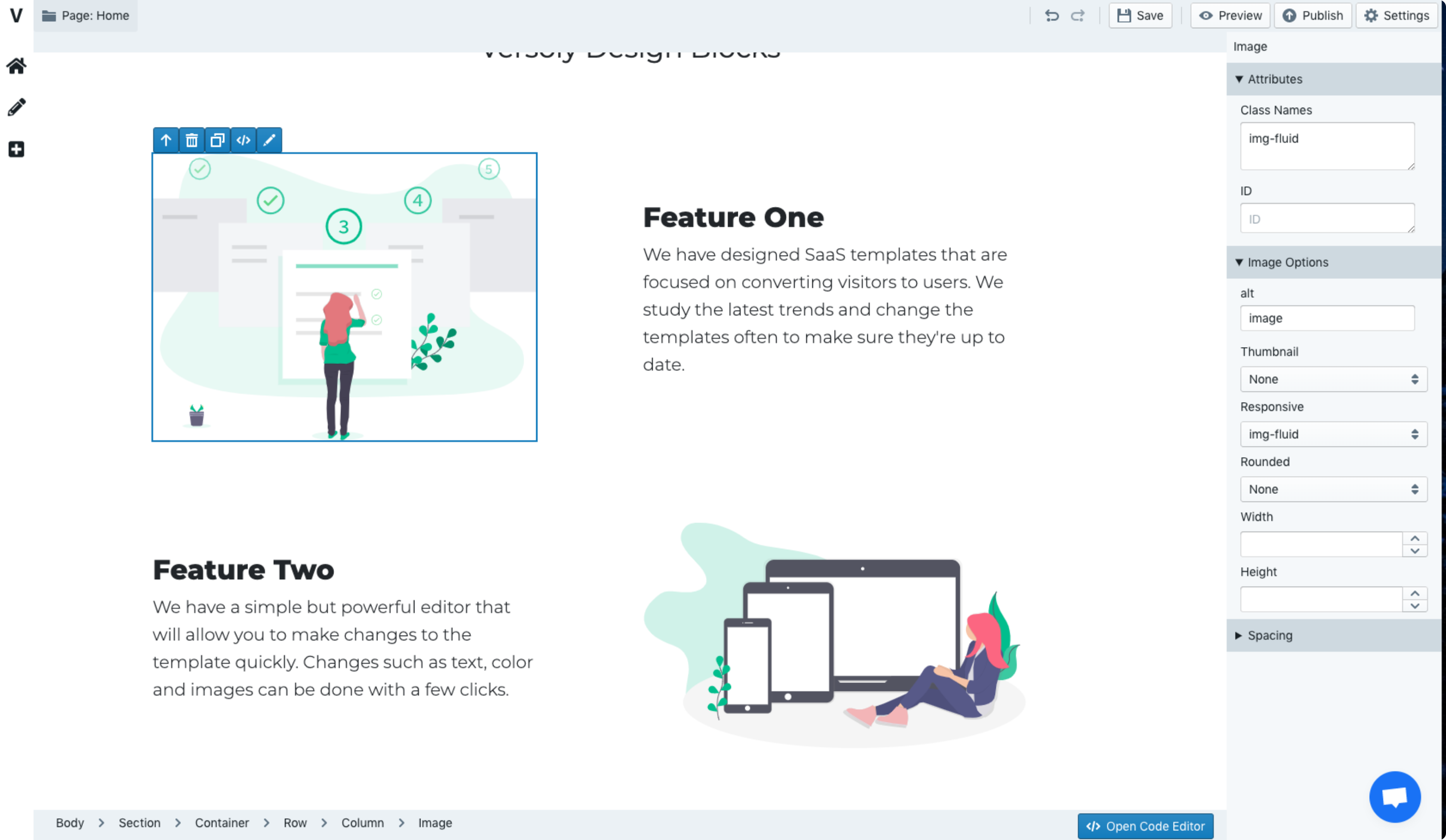 Versoly - Conversion Focused Website and Landing Page Builder